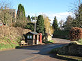Phone box and tidy bus shelter, Llangarron - geograph.org.uk - 678263.jpg