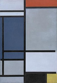 Piet Mondriaan - Composition with red, blue, black, yellow and gray - 154.1957 - Museum of Modern Art.jpg