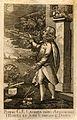 Pietro G. P. Casamia. Line engraving. Wellcome V0001022.jpg