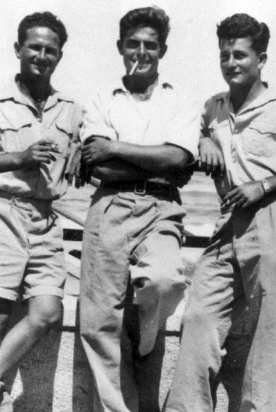 שלושה ממפקדי חטיבת הנגב