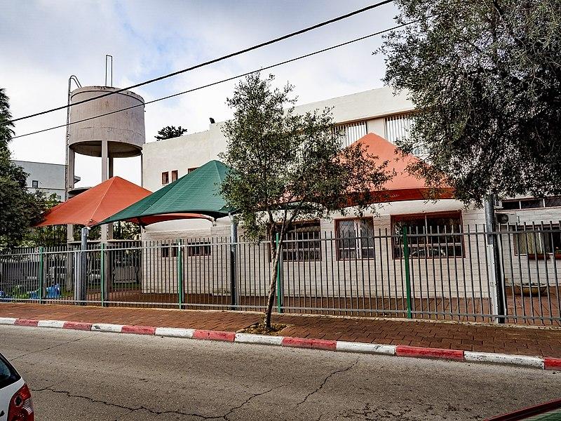 בית ספר בן גוריון ומגדל המים