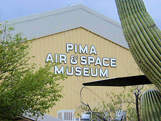 Pima Air & Space Museum - The main entrance to the museum