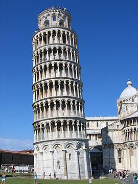 Pisa - Campo Santo - Campanile 1 - 2005-08-08 10-15 4638