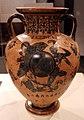 Pittore di princeton, anfora con eracle, attica, 550-525 ac ca. 01.jpg
