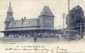 Pittsfield, Massachusetts - Pittsfield Depot, c.1905