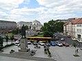 Plac Trzech Krzyży w Warszawie - kościół świętego Aleksandra - panoramio.jpg