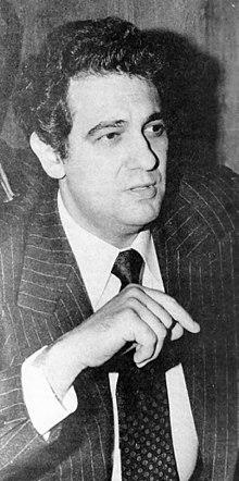 Plácido Domingo nel 1979