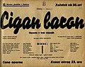 Plakat za predstavo Cigan baron v Narodnem gledališču v Mariboru 17. februarja 1940.jpg