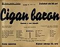 Plakat za predstavo Cigan baron v Narodnem gledališču v Mariboru 25. februarja 1940.jpg