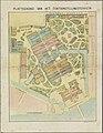 Plattegrond van de Wereldtentoonstelling in Amsterdam, 1883 Plattegrond van het tentoonstellingsterrein (titel op object) Herinnering aan Amsterdam in 1883 (serietitel op object), RP-P-OB-89.751-1.jpg