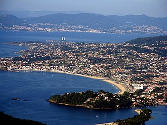 Vigo - Extension of the population towards Nigrán