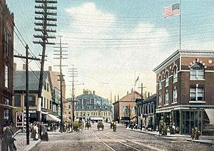 Malden, Massachusetts - Pleasant Street c. 1906