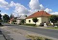 Poděbrady, Nymburské Předměstí, Husova street 2.jpg