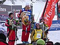 PodiumContamines2010Ladies and Ophelie4th.JPG