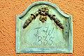Poertschach Congress Center Westseite Inschriftstein 1835 23112008 44.jpg