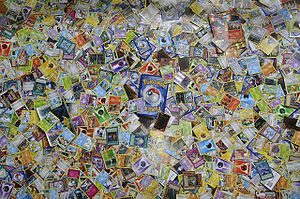 Pokémon Trading Card Game - Image: Pokemon collection