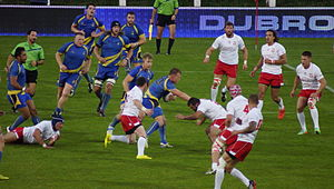 Sweden national rugby union team - European Nations Cup game between Poland and Sweden (2014)