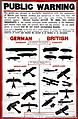 Police Notice Boards Anti-Aircraft poster (MEPO 2-1621 ) (14771398366).jpg