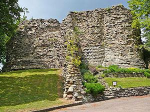 Robert Waterton - Ruins of Pontefract Castle, where Robert Waterton was Constable