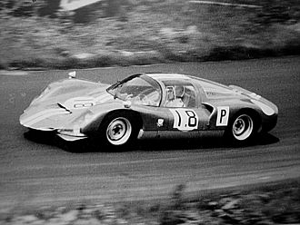 Jo Siffert - Siffert at the wheel of a Porsche 906 in practice for the 1966 1000 km Nürburgring race