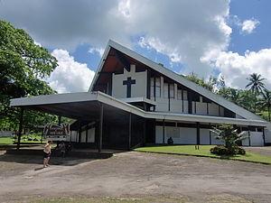 Port Vila: Port-Vila cath Sacre Coeur