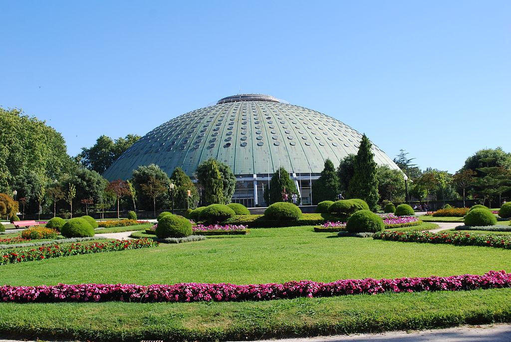 Porto - Jardins do Palácio de Cristal - Pavilhão dos Desportos