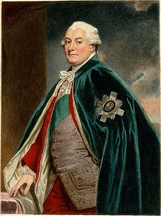 David Murray, 2nd Earl of Mansfield - Image: Portrait of David Murray 2nd Earl of Mansfield by Sylvester Harding