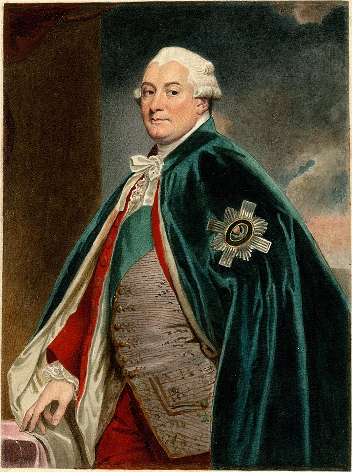 Portrait of David Murray 2nd Earl of Mansfield by Sylvester Harding