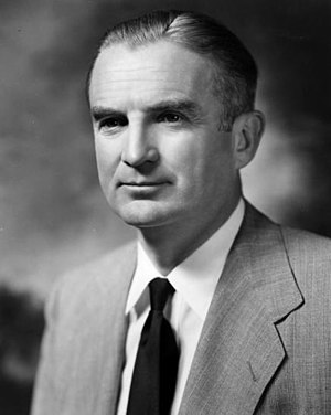United States Secretary of the Air Force - Image: Portrait of W. Stuart Symington 97 1844