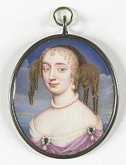 Portret van een vrouw, misschien Anne Hyde (1637-71), eerste echtgenote van Jacobus II van Engeland