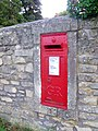 Postbox, Combe Down - geograph.org.uk - 1561706.jpg