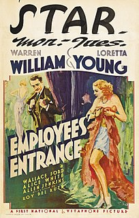 <i>Employees Entrance</i> 1933 film by Roy Del Ruth