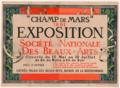 Poster Salon Société nationale des beaux-arts Paris 1891.png
