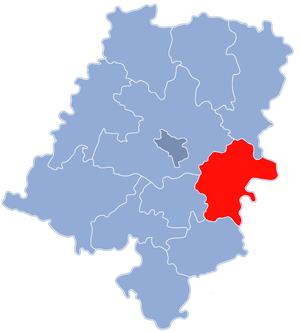 Strzelce County - Image: Powiat strzelecki