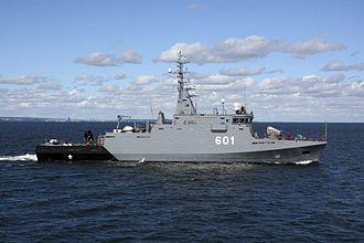 Polish Navy - ORP Kormoran