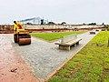 Praça da Bíblia está quase pronta e será ponto de encontro de todas as religiões antes e depois águas lindas de goiás.jpg