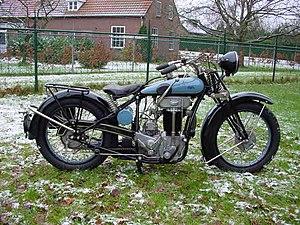 Praga (company) - 1929 Praga BD motorcycle