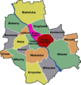 Praga Warsaw District Map.png
