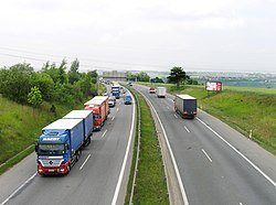 Prague Slivenec R1 Highway2.jpg