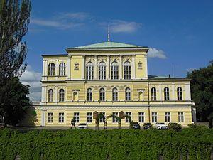 Žofín Palace - Image: Praha, Nové Město, palác Žofín (2)