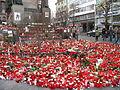 Praha, Václavské náměstí, Pieta za Václava Havla 21. prosince 2011 (003).JPG
