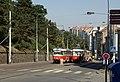Praha, Vinohrady, Francouzská, tramvaje 7067 a 7159.jpg