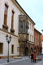 Praha Karolinum výklenek 1.jpg