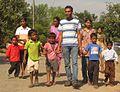 Prakash with kids1.jpg