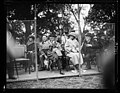 Pres. and Mrs. Harding watching the (...) of Spain and William Tilden (...) partner playing tennis at White House LCCN2016892282.jpg