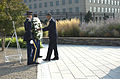 President Barack Obama places a wreath at the dateline of the Pentagon 9-11 Memorial during a remembrance ceremony to honor the victims of the 9-11 attacks on the Pentagon in Arlington, Va 130911-D-BW835-026.jpg