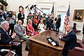 President Donald J. Trump Participates in a Fentanyl Epidemic Update Meeting (48132254778).jpg