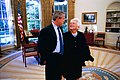President George W. Bush Visits with Former First Lady Barbara Bush in the Oval Office.jpg