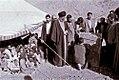 President Khamenei Visiting a nomadic children school.jpg