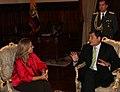 Presidente ecuatoriano, Rafael Correa recibe a Ministra de Asuntos Exteriores y de Cooperación del Reino de España, Trinidad Jiménez (5165176046).jpg